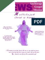 March 2005 Anchorage Gospel Rescue Mission Newsletter
