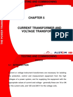 Chapter 5 Alstom CT AND VT