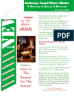 December 2005 Anchorage Gospel Rescue Mission Newsletter