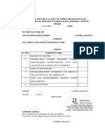 138 Case OCL Iron, Cheque No.145228