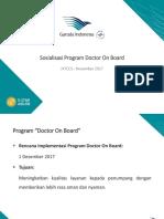 Program Doctor on Board 2017