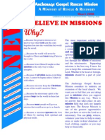 March 2006 Anchorage Gospel Rescue Mission Newsletter