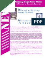 April 2006 Anchorage Gospel Rescue Mission Newsletter