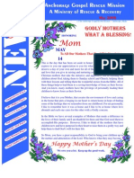 May 2006 Anchorage Gospel Rescue Mission Newsletter