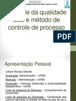 Tema 1 - Controle Da Qualidade Total e Merodo de Controle de Processo