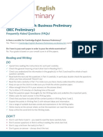 251495 Cambridge English Business Preliminary Faqs