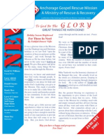 January 2007 Anchorage Gospel Rescue Mission Newsletter