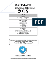 Modul Matematik Form 3
