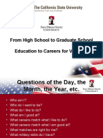 ReBoot Education to Careers Presentation September 2, 2010