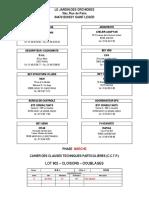 Lot 602 - Cloisons - Doublages (M) - Ind. 0