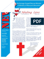 February 2007 Anchorage Gospel Rescue Mission Newsletter