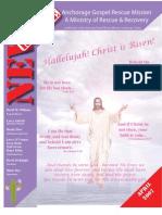 April 2007 Anchorage Gospel Rescue Mission Newsletter
