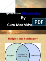 Spirituality by Guru Maa Vidyavati