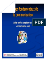 Communication (Principes Fondamentaux de La)