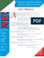 October 2007 Anchorage Gospel Rescue Mission Newsletter