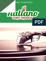 Como Aprender Italiano Com Musica e-book