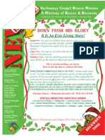 December 2008 Anchorage Gospel Rescue Mission Newsletter