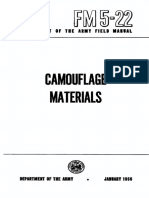 FM5-22 Camouflage Materials 1956
