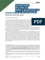 Bento, Berenice.É o Quee Tem Pra Hj-conevrsando Sobre as Potencialidades e Apropriacoes Da Teoria Queer Ao Sul Do Equador.(2015)