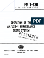 FM1-130 Operation of the AN/USD-1 Surveillance Drone System