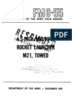 FM6-55 4.5 Inch Multiple Rocket Launcher M21, Towed