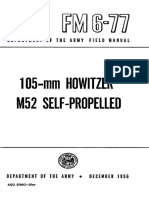 FM6-77 105mm Howitzer M52 Self-Propelled