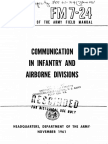 FM7-24 Communication in Infantry and Airborne Divisions 1961