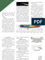 Espectroscopia Tríptico