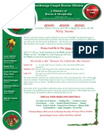 December 2009 Anchorage Gospel Rescue Mission Newsletter