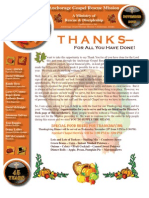 November 2009 Anchorage Gospel Rescue Mission Newsletter