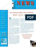January 2010 Anchorage Gospel Rescue Mission Newsletter