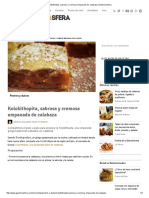 Kolokithopita, Sabrosa y Cremosa Empanada de Calabaza _ Gastronosfera