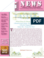 April 2010 Anchorage Gospel Rescue Mission Newsletter