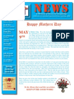 May 2010 Anchorage Gospel Rescue Mission Newsletter