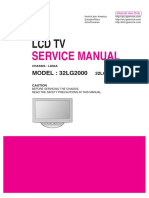 Lg Ld84a Chassis 32lg2000 Lcd Tv Sm