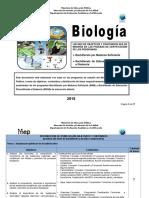 Biologia Bachillerato 2018 1