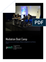 Pact Boot Camp Proposal