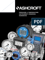 Ashcroft Pressure Temperature Instrument Ordering Handbook
