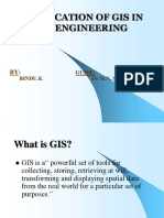 Application of Gis in Civil