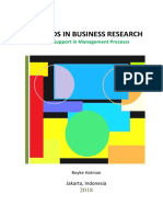 Methods in Business Research - Base Support in Management Process