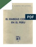 Habeas corpus en el Perú - García Belaunde.pdf