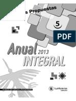 Boletin Nº 5 Anual Integral 2013