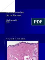 Collagenosis Nuchae (Nuchal fibroma), M 57, Back of Neck