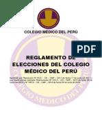 reglamento elecciones 201X