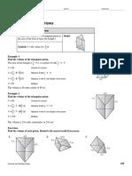 reteach volume of triangular prisms