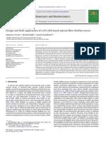 Design and Field Application of a UV-LED Based Optical Fiber Biofilm Sensor