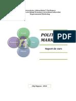 Suport de Curs - Politici de Marketing (1)