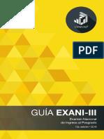 Guia Exani-III 15a Ed