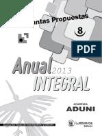 Boletin Nº 8 Anual Integral 2013