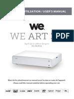 Manuel d'Utilisation We Art 3.0_FR v3 2015